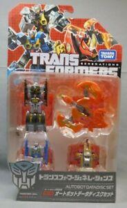 Transformers Tg-15 Generations Ensemble de disques de données Takara Autobot Rewind, Eject More