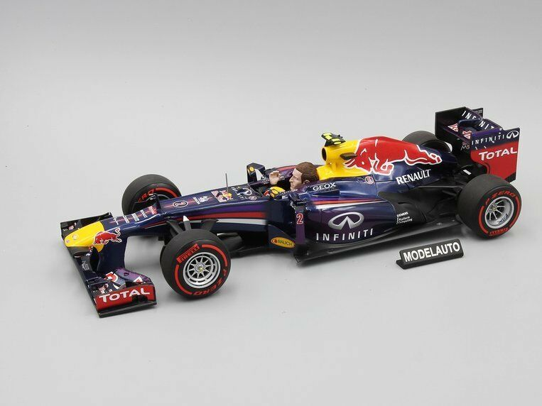 Minichamps 1 18 INFINITI rojo BULL  MARK WEBBER LAST F1 RACE BRAZIL GP 2013
