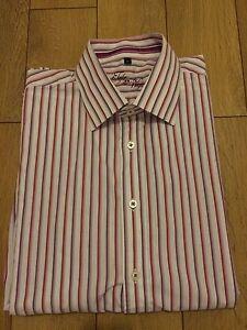 Men-039-s-Long-Sleeve-Stripe-Shirt