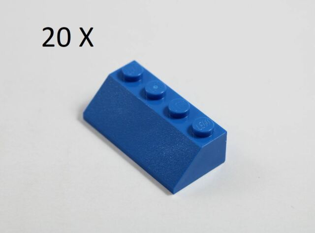 LEGO® Brick Blue Slope 45 2 x 4 Part No 3037