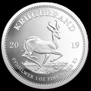 Suedafrika-2019-Kruegerrand-1-Oz-Silber-PP-im-Etui