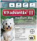 Bayer K9 Advantix 4 Pack For Dogs 11 - 20 lb