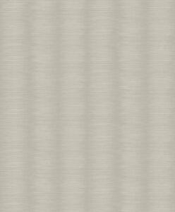 Tapete-Designtapete-Glitzer-Querstreifen-Taupe-Steingrau