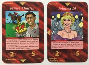 England  german limited Mint 5 Illuminati INWO Card England