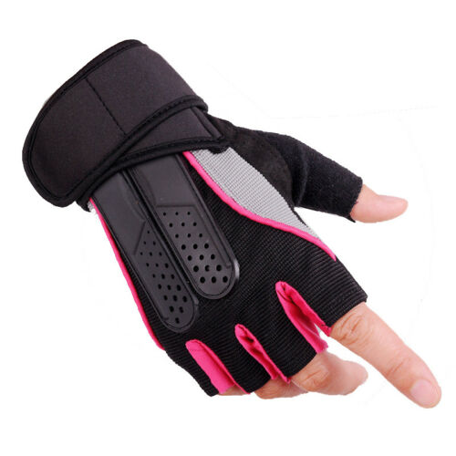 Weight Lifting Gym Training Fitness Gloves Sports Wrist Wrap Workout Exercise