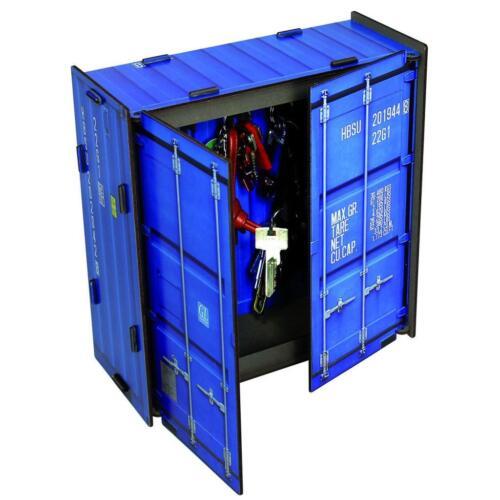 """Werkhaus """"Container Schlüsselkasten"""", blau"""