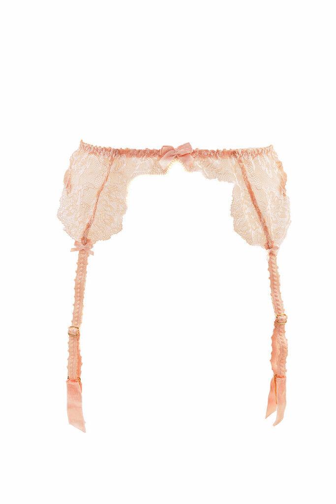L'Agent by Agent Provocateur Women's Delicate Suspender Beige S RRP  BCF89