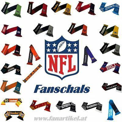 *update - Nfl Football Fanschal - Patriots + Seahawks + 49ers + Rams Fanartikel