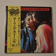 """ROLLING STONES - THE ROLLING STONES VOL.2 - 1973 JAPAN 7"""" EP 4-TRACKS WITH OBI!!"""