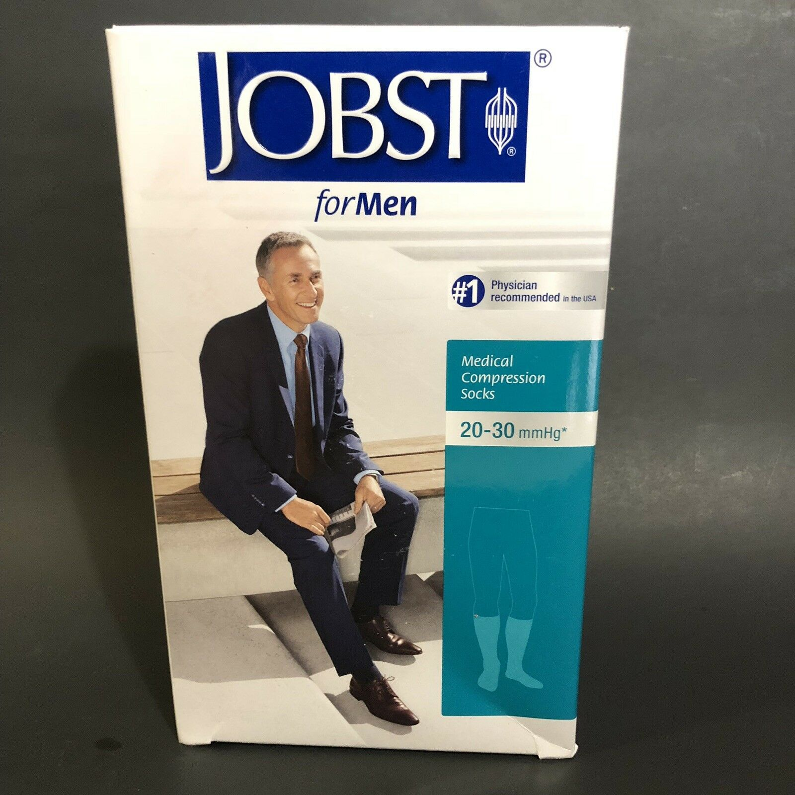 4b4fc947e21 JOBST Mens Compression Socks Black XL Knee High 115091 for sale online