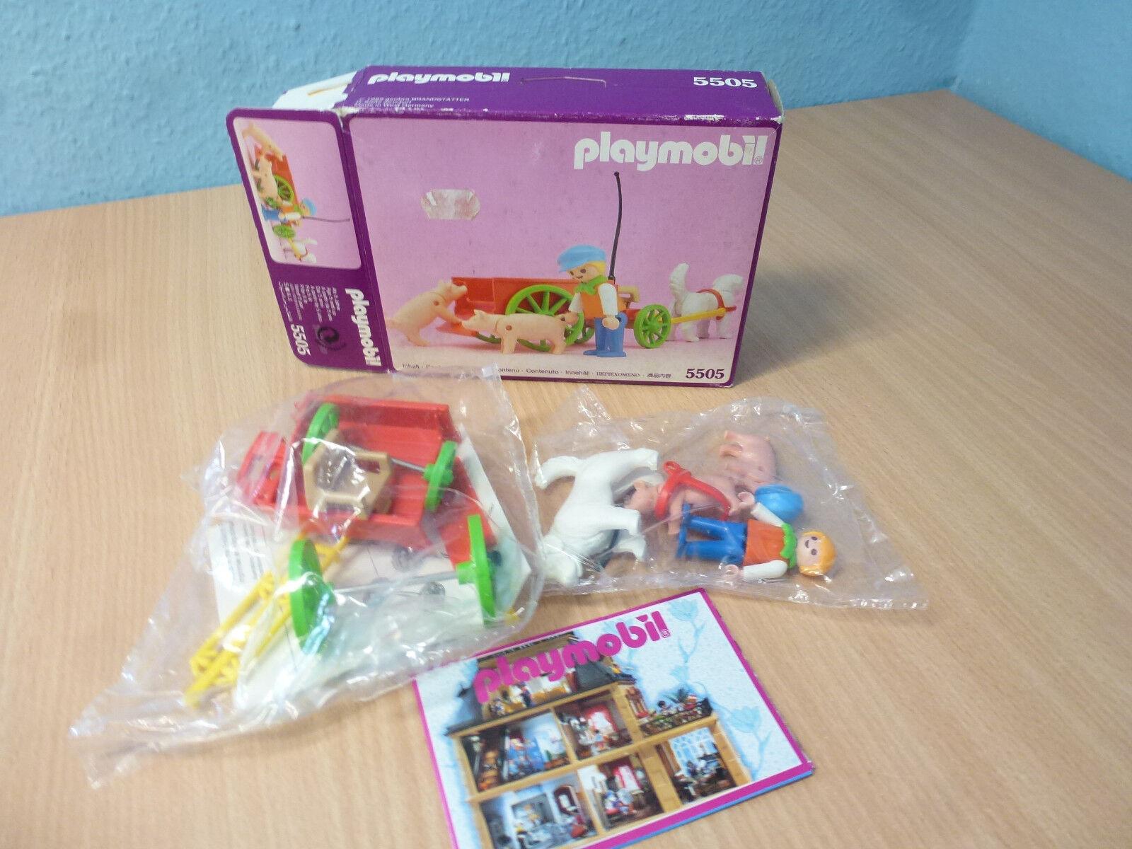 5505 5505 5505 Hundekutsche zu Nostalgie pink Serie 5300 Puppenhaus 1900 OVP Playmobil f55303