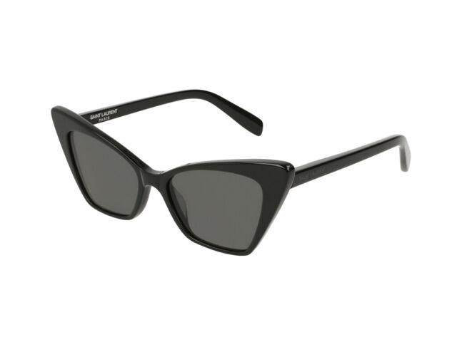 gafas de sol Yves Saint Laurent SL 244 VICTOIRE gris negro 001