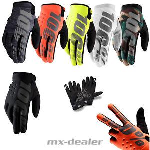 100-percentuale-Brisker-Inverno-Guanti-MTB-DH-MX-Motocross-Enduro-Quad-BMX-GLOVE