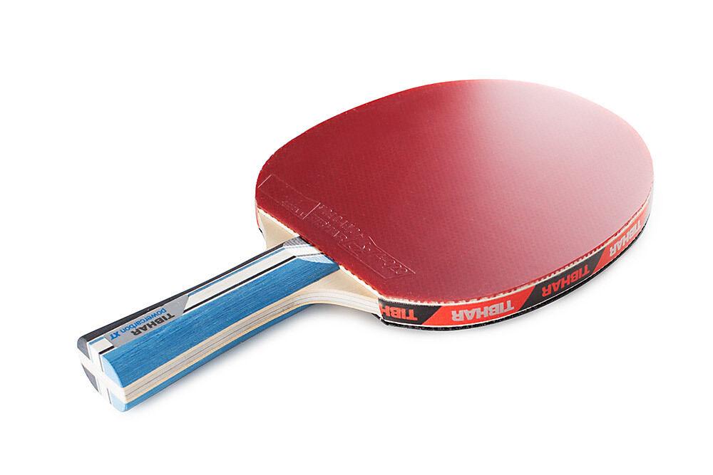 Tibhar Tischtennisschläger Powercarbon XT - drei Farben konkaver Griff Griff Griff 6aa683