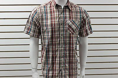 Marmot Brookhurst Short Sleeve Button-Up Plaid Shirt 4 Sizes 3 Colors