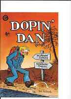 Dopin' Dan #3and 4 VFNM (4th) print TED RICHARDS FROM LAST GASP.