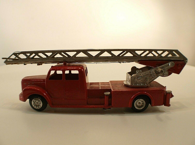 Tekno n° 445 camion camion camion SCANIA  VABIS 75 Grande échelle pompiers repeint repainted ae8f25