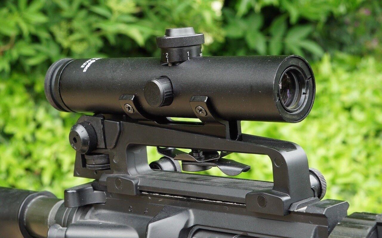 Vector Optics Tactical Streak 4x22 Asa de Transporte montaje compacto  mira telescópica y alcance  60% de descuento