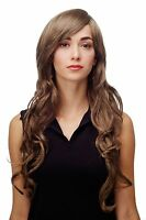 Wig Gold Brown Curles Wavy Long Side Part Approx. 70 Cm 9204s-18