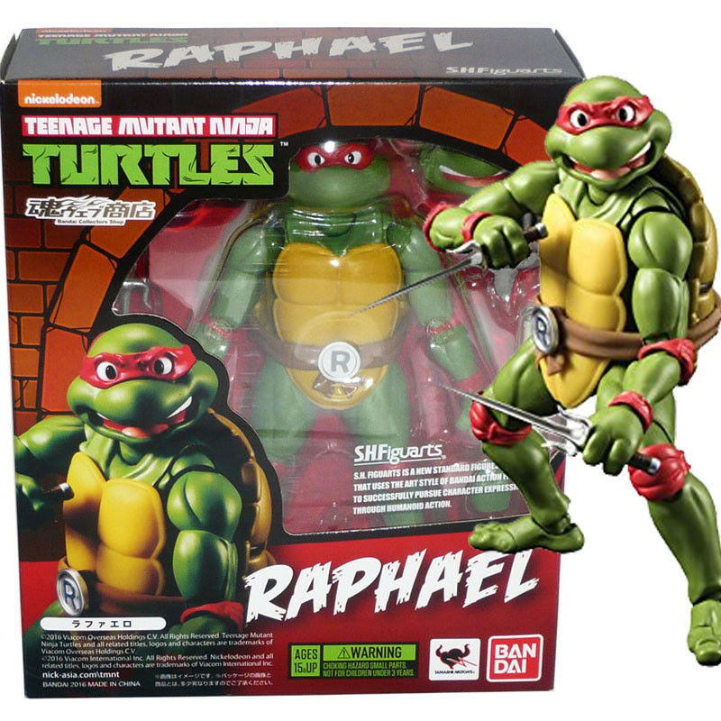 Tamashii Limited S.H.Figuarts Teenage Mutant Ninja Turtles Raphael Action Figure