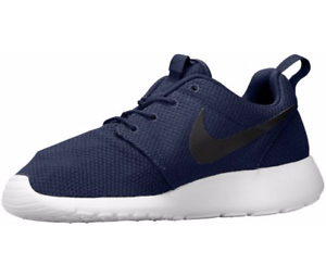 free shipping bed81 c18b2 Image is loading Nike-Men-039-s-Roshe-One-Midnight-Navy-