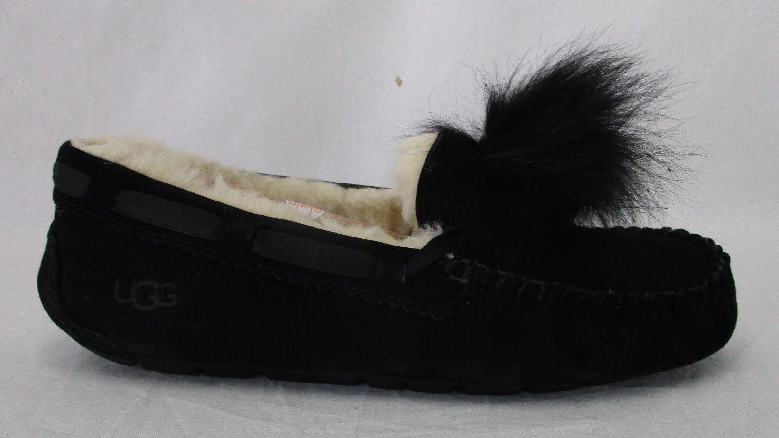 Pantoufles Dakota Pom Pom pour femmes UGG 1019015 Noir Taille 8
