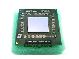 AMD-AM3300DDX23GX-A4-Series-A4-3300M-1900MHz-CPU-Processor-Mobile-HP-Pavilion-G7