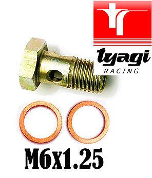 Tyagi Racing Banjo Bolt 1//4 BSP