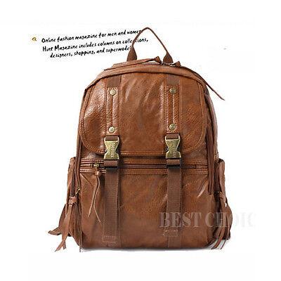 ZOOYORK,Backpack,Campus bag,Book bag,School bag,Bookbag,Faux leather,Browns
