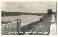 RPPC Blackwell Dam, Indian Trail State Park SALEM MO Vintage Real Photo Postcard