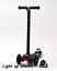 Maxi-Scooter-Maxi-micro-style-LIGHT-UP-WHEELS-BLACK-Boxed-Tilt-n-Turn-4-12yrs thumbnail 1
