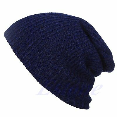 Chic Knit Men's Women's Baggy Beanie Oversize Winter Hat Ski Slouchy Cap Skull