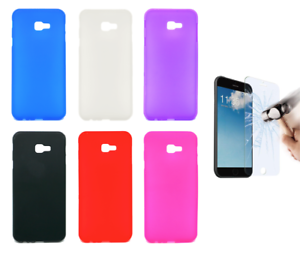 Funda-Carcasa-Silicona-Gel-TPU-Samsung-Galaxy-J4-Plus-6-034-Protector-Opcional