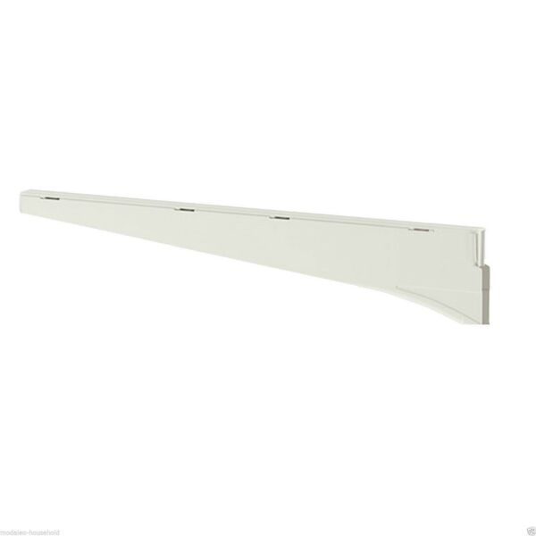 1 X Ikea Algot Bracket White Steel Shelf Brackets (18 Or 38cm) Pup10
