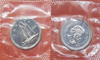 Proof Like 1998W Canada 5 Cents Sealed in Cello