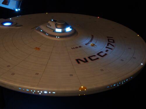 USS Enterprise NCC-1701 Refit//A Model Kit Movie Quality LED Light//Sound System