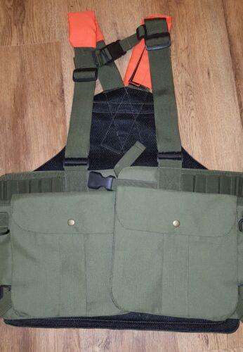 CACCIA lavoro K9 pistola cane Handler FALCONERIA gilet CACCIA Arancione riflettore