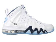 Nike Barkley Posite Max PRM QS SZ 8.5 USA White Silver Foamposite Lab 588527-100