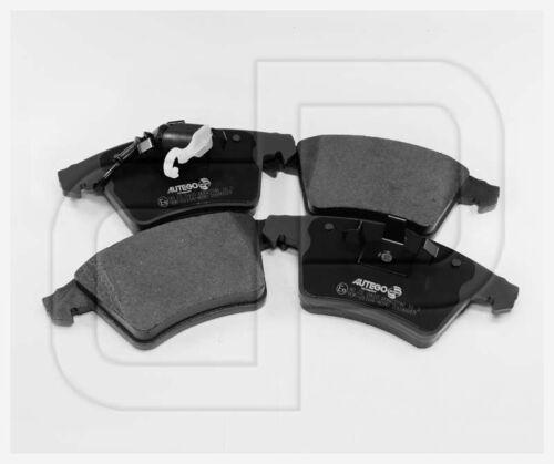 Bremsbeläge Bremsklötze VW T5 Multivan vorneVorderachse mit Verschleißkabel