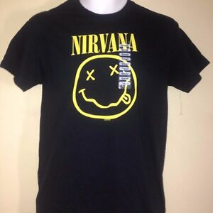 VINTAGE-NIRVANA-2003-CORPORATE-ROCK-WHORES-SMALL-T-SHIRT-PUNK-ROCK-VERY-RARE