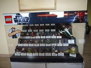 Lego Star Wars 41 Figuren 1 Raumschiff Display Vitrine Schaukasten