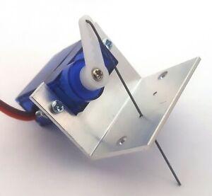 Humoristique Rkbracket 1 Point Motor Servo Support De Montage-toute échelle/gauge, Costume Peco, Etc-afficher Le Titre D'origine