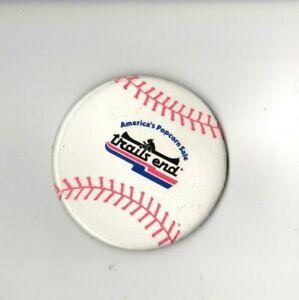 Boy-Scouts-of-America-BSA-America-039-s-Popcorn-Sales-Trail-039-s-End-Large-Baseball-Pin
