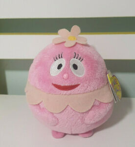 Ty-Beanie-Ballz-Foofa-Yo-Gabba-Gabba-Plush-Pink-Character-Toy-13cm