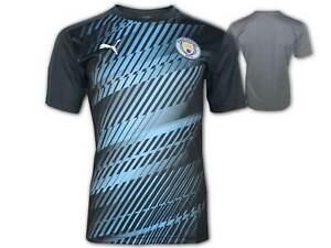Puma-Manchester-City-Stadium-Jersey-MCFC-Aufwaerm-Trikot-Man-City-Shirt-Gr-S-XXL