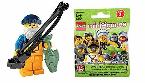 Lego Mini Figure Series 3 Angler  Minifigure Series 3  8803-01