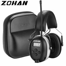 Hearing Protection Radio Bluetooth Noise Cancelling Mower Safety Ear Muffs