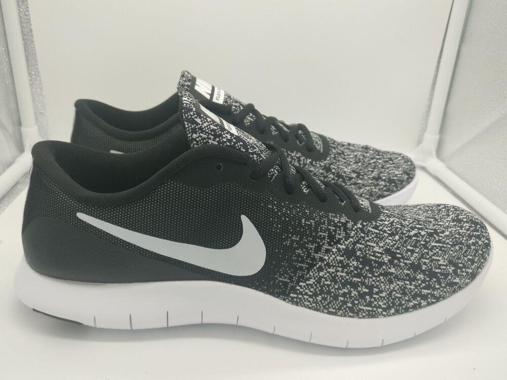 Nike Flex contact UK 10 Noir Blanc Oreo 907983001-