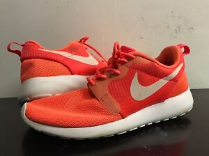 Details about Nike Roshe Run Women Running Shoes 6US3.5UK 36.5EUR. Neon Peach. 642233 602