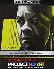 THE EQUALIZER  STEELBOOK 4K ULTRA HD + BLU-RAY